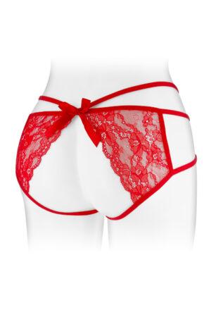 Culotte κόκκινο Nadia Fashion Secret