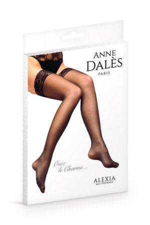 Καλσόν μαύρο με δαντέλα Alexia Anne D' Ales