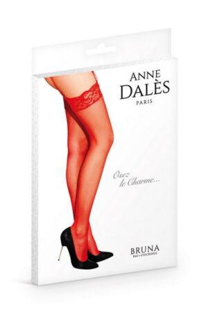 Anne D' Ales Bruna καλσόν κόκκινο με δαντέλα
