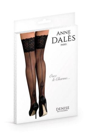 Anne D' Ales Denise καλσόν μαύρο