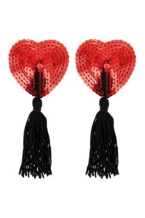 Κάλυμμα θηλής κόκκινο Hearts Paris Hollywood