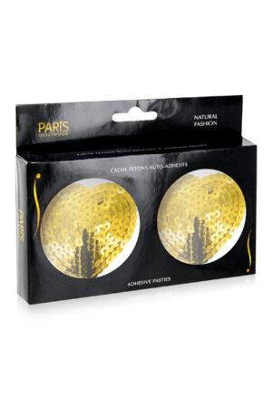Κάλυμμα θηλής χρυσό Hearts Paris Hollywood