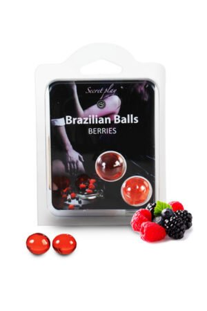 Brazilian Balls Set x2 Blackberries