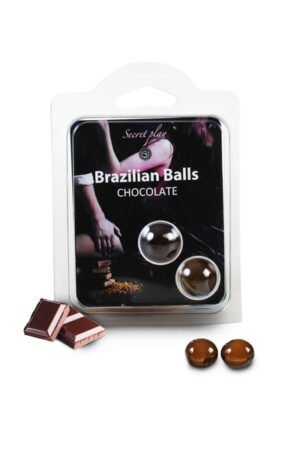 Brazilian Balls Set x2 Chocolate