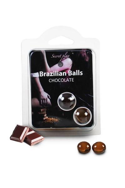Brazilian Balls Set x2 Chocolate