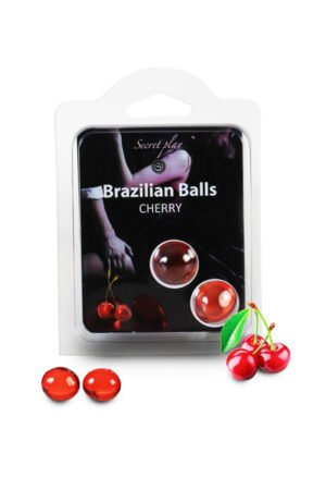Brazilian Balls Set x2 Cherry