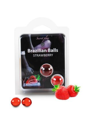 Brazilian Balls Set x6 Strawberry