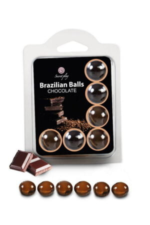 Brazilian Balls Set x6 Chocolate