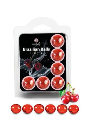 Brazilian Balls Set x6 Cherry