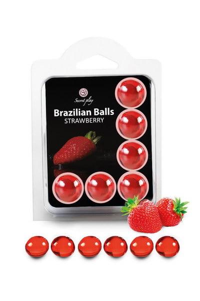 Brazilian Balls Set x6 Strawberry