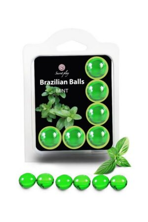 Brazilian Balls Set x6 Mint