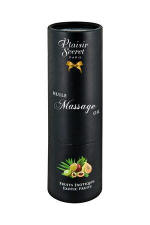 Λάδι μασάζ από βαμβάκι Exotic Fruits Plaisir Secret
