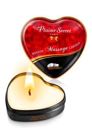 5 Αρωματικά Κεριά Coconut Plaisir Secret