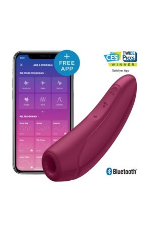 Curvy 1+ Satisfyer (bordeaux)